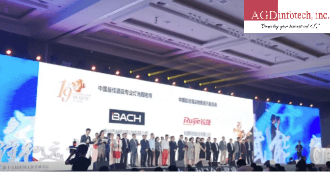 Ruijie Won the Best Hotel Data Communication Service Provider Award