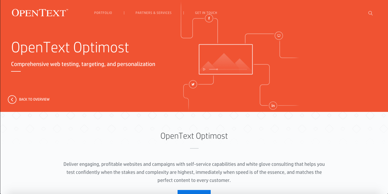 Marketing Optimization by OpenText