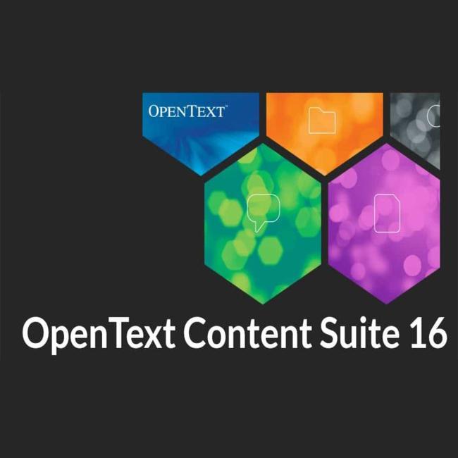 OpenText Content Suite Platform