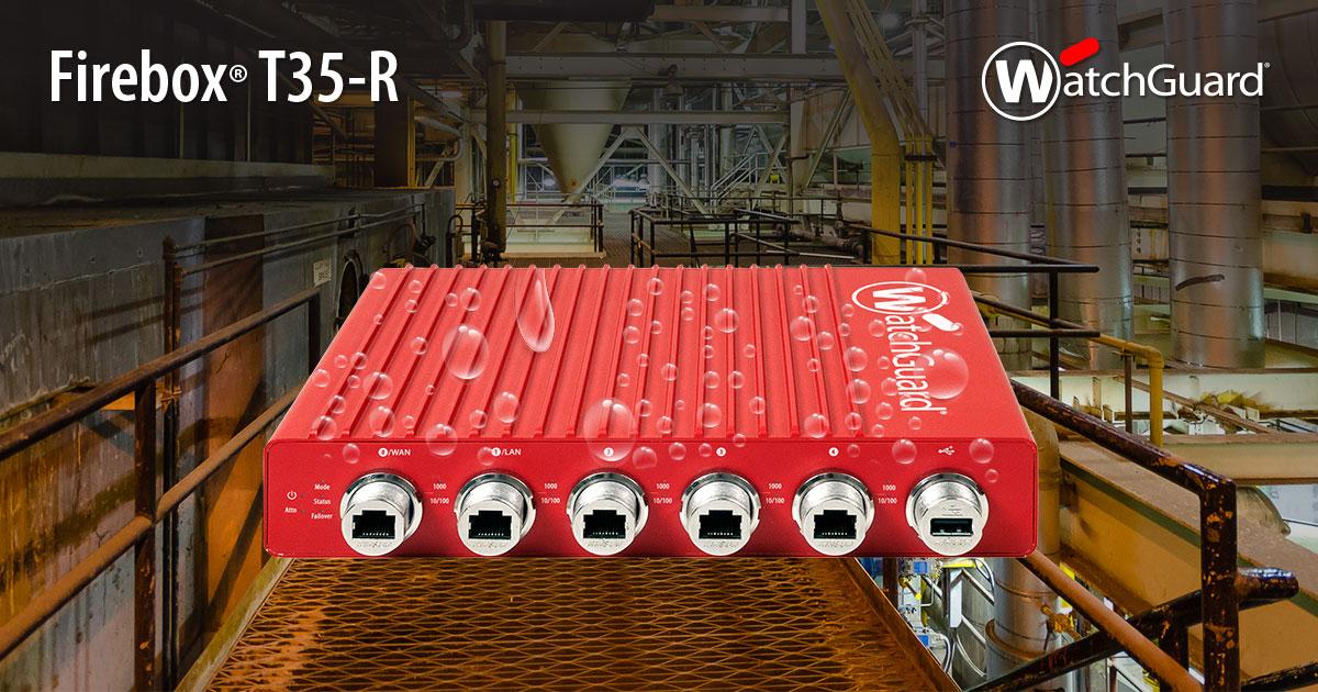 WatchGuard Firebox T35 & Firebox T55