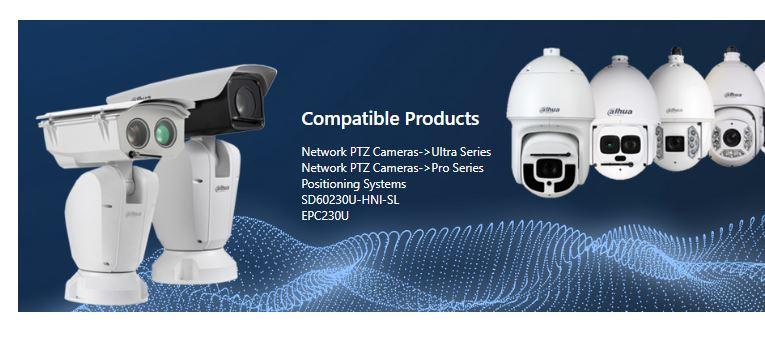 PTZ Cameras by Dahua