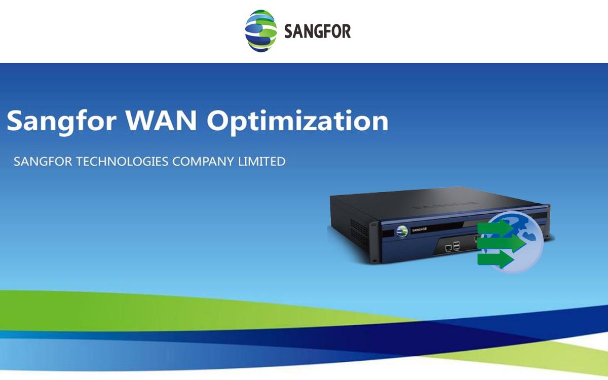 WANO – WAN Optimization & Acceleration Solution