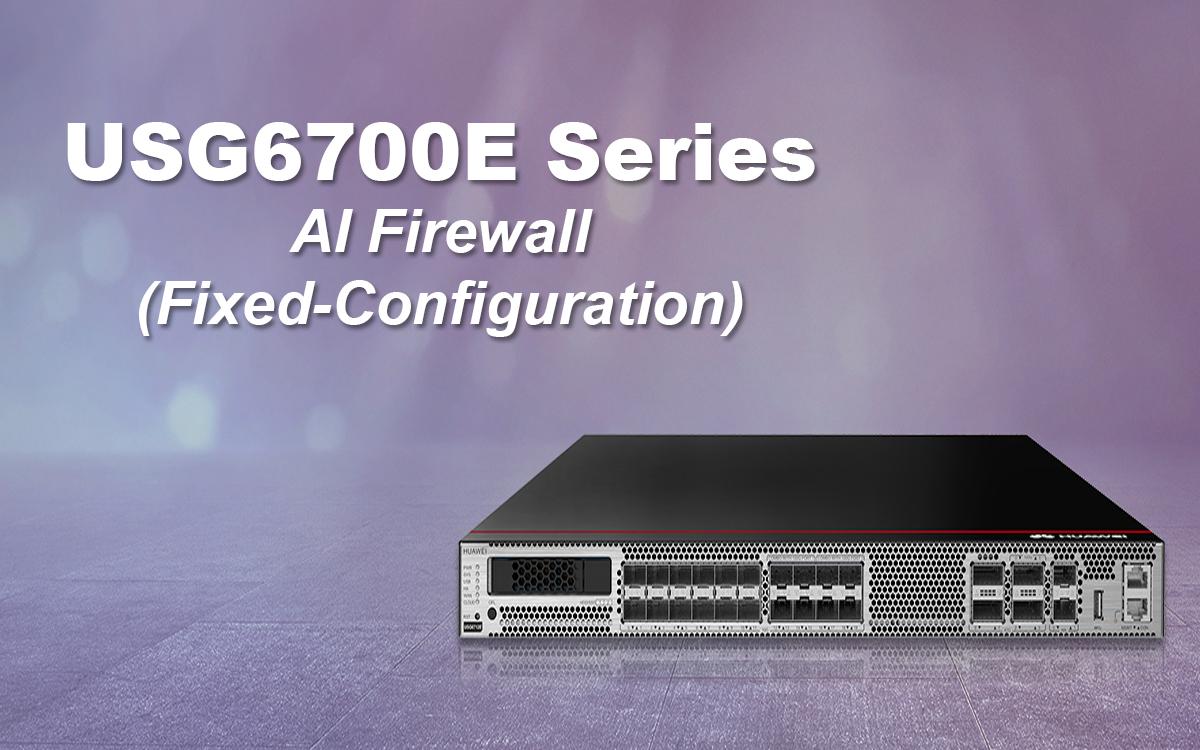 USG6700E Series