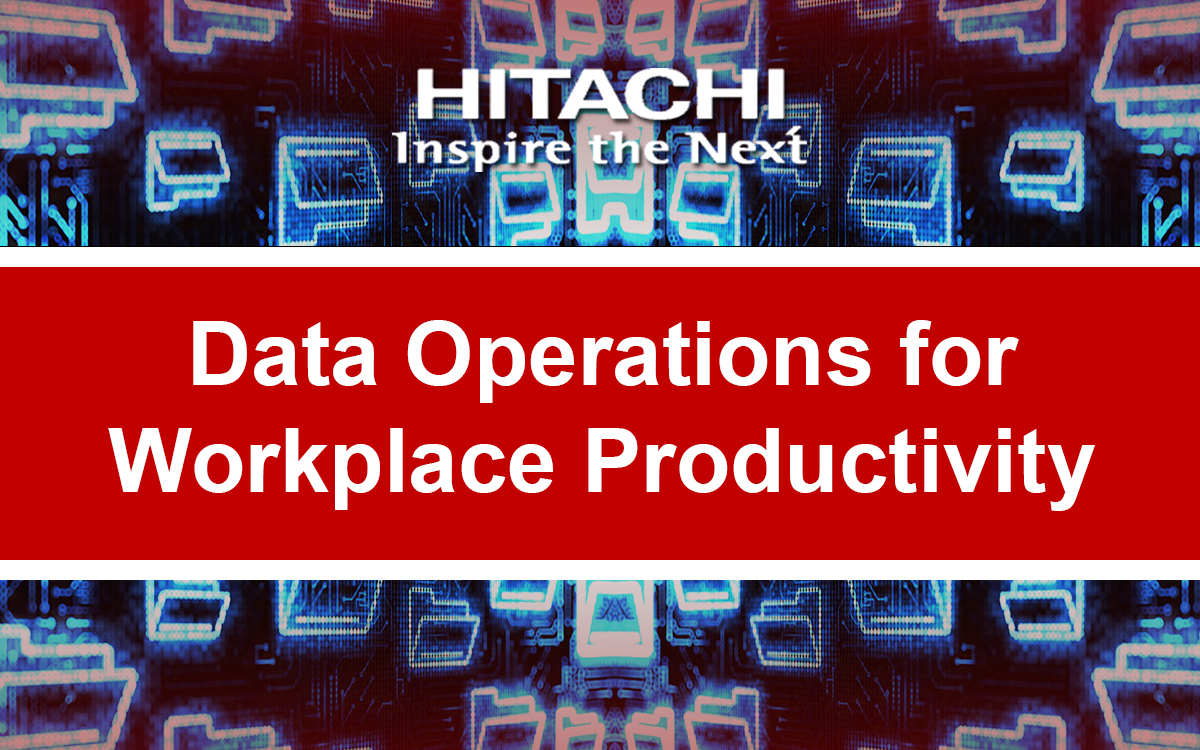 Data Operations for Workplace Productivity
