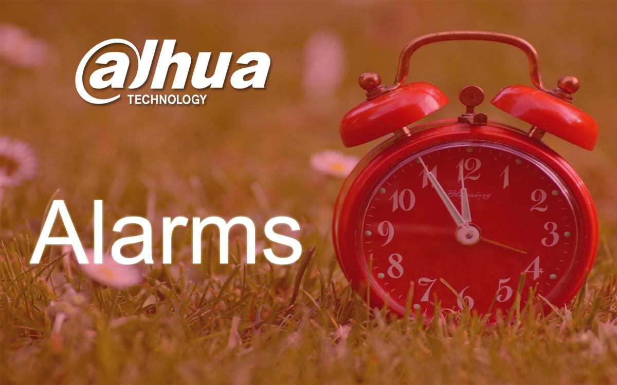 Alarms by Dahua
