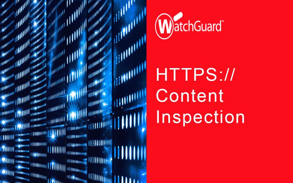 HTTPS Content Inspection