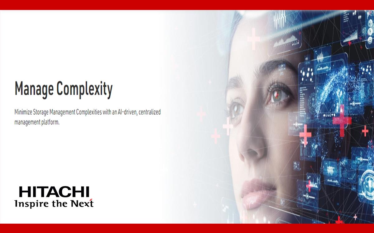 Minimize Storage Management Complexities with an AI-driven, centralized management platform.